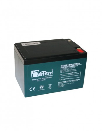 Baterías 12 V 14 Ah en Gel Descarga Profunda