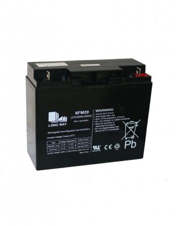 Baterías 12 V 20 Ah en Gel Descarga Profunda