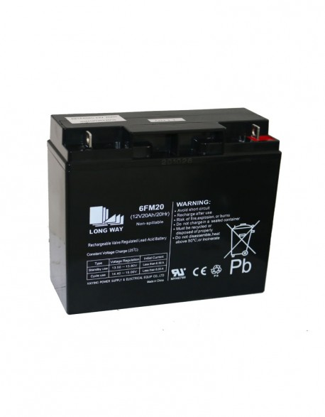 Bateria 12 V 20 Ah Secas