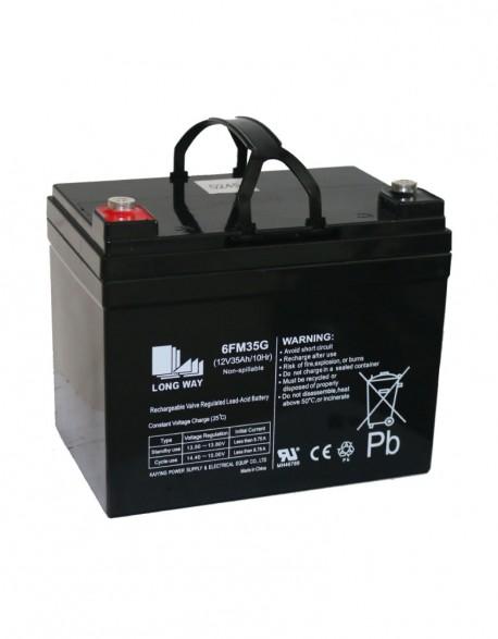 Bateria 12V 35 Ah en Gel Descarga Profunda